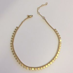 Madewell Gold Choker Necklace